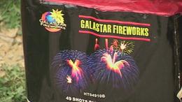 Tűzijáték előkészületek