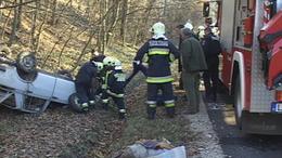 66-os út: baleset Gödrénél