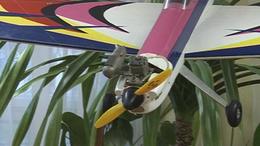 Repülő modell kiállítás Jutában