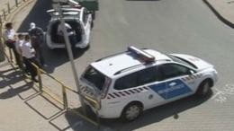 Összetört egy új rendőrautó Kaposváron