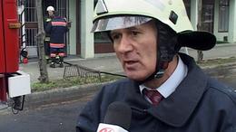 Tűz a kaposvári irodaházban