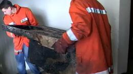 Megkezdődött a helyreállítás a kiégett kaposvári irodaházban