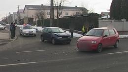 Két autó ütközött Kaposváron péntek reggel