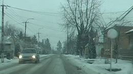 Reggeli havas közlekedés a 67-esen