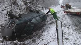 Állt a forgalom Somogyaszalónál egy baleset miatt