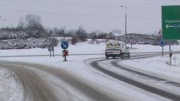 Hóhelyzet Kaposváron