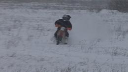 A hó szerelmesei - így élvezik a havat Somogyban