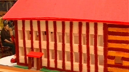 Iskolát építettek kockacukorból