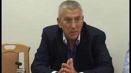 Schwajda György első nyilatkozata Kaposváron