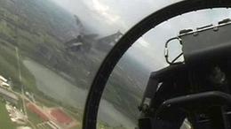 Az Ohioi Nemzeti Gárdával gyakorlatoznka a magyar pilóták