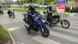 Motoros felvonulás Kaposváron