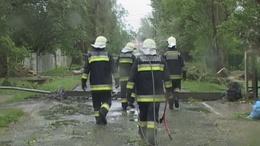 A Balaton parton is pusztított a vihar