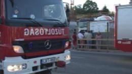 Állványról zuhantak le a munkások Kaposváron