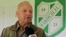Horváth Miklós: lesz még Prukner a Rákóczi edzője
