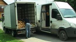 Kisteherautó ütötte el a vásárlót Bárdudvarnokon.