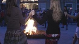 Tűztánc a múzeumok éjszakáján
