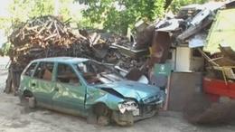 Gépkocsi karosszéria és mosógépburkolat egy millió forint értékben!