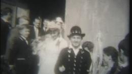 Esküvő a hetvenes évek elején