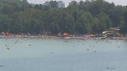 A Balaton keleti medencéje madártávlatból