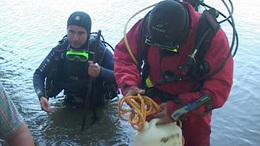 Különleges palánkhajót is találtak a Dráva mélyén