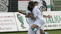 Nézze meg Jawad győzelmet jelentő gólját!