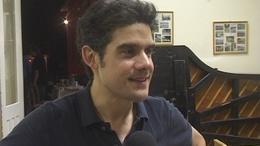 José Gallardo a vega ételekre esküszik