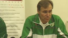 Sisa Tibor a Rákóczi vezetőedzője értékelte a Paks elleni mérkőzést