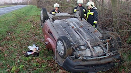 Fejreállt egy Opel Répáspusztánál