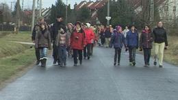 A gyermekekért, az anyákért és a hajléktalanokért gyalogoltak