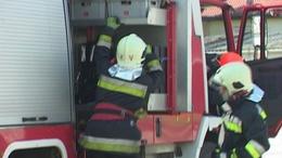 Égett sérültet mentettek a kaposvári tűzoltók