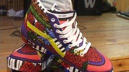 Cipőfestés - Kreatív diákok