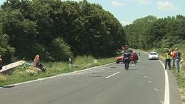 Anya és lánya sérült a Taszár és Baté közötti balesetben