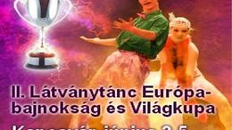 Látványtánc EB - Latin show