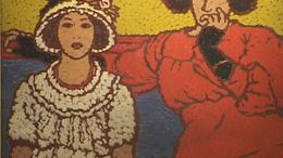 Rippl Rónai kiállítás az Agórában