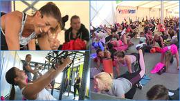 Az 1. Kaposvári Fitness Aréna Sport és Életmód Fesztiválon jártunk