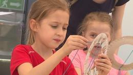 Birtokba vették a gyerekek a Kaposvár Arénát