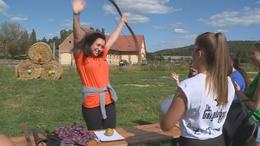 A Kaposvári Egyetem gólyatáborában jártunk