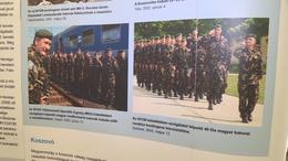 A NATO történelmét lehet megtekinteni az egyetemi kampuszon
