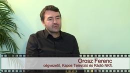 Kapos TV 30: beszélgetés Orosz Ferenccel