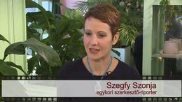 Kapos TV 30: beszélgetés Szegfy Szonjával