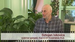 Kapos TV 30: beszélgetés Sztojan Ivkoviccsal